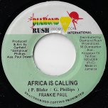Africa Is Calling / Dub - Frankie Paul