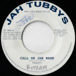 Call On Jah Name / Call On Dub - Frighty