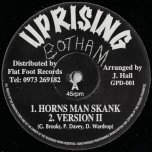 Horns Man Skank / Version II / Judgement Dubwise / Version II - Uprising