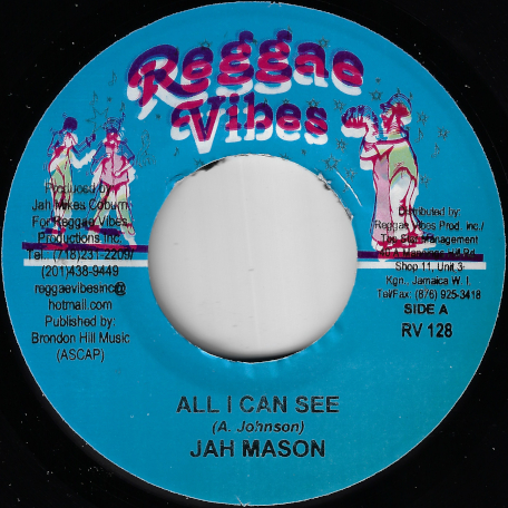 All I Can See / Everyday A Youth Die - Jah Mason / Christopher