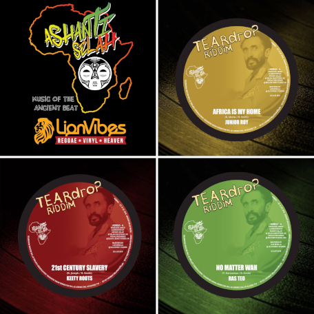 Tear Drop Riddim Bundle Deal - Keety Roots / Junior Roy / Ras Teo / Ashanti Selah