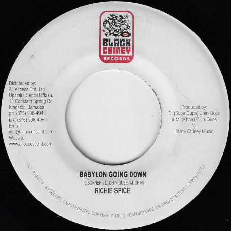 Babylon Going Down / Dr Bird Ver - Richie Spice