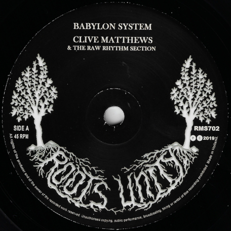 Babylon System / Ver - Clive Matthews / The Raw Rhythm Section