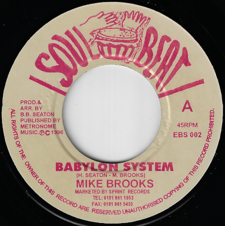 Babylon System / Ver - Mike Brooks / Conscious Minds