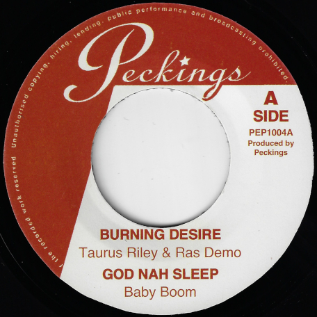 Burning Desire / God Nah Sleep / Flash Up / Drugs Overdose - Taurus Riley And Ras Demo / Baby Boom / Ziggi Recado / Dean Fraser