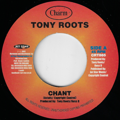 Chant / Dub - Tony Roots