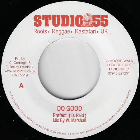 Do Good / Good Dub  - Prefect / 55 Players Of Instruemnts