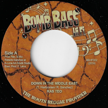 Down In The Middle East / Middle East Dub - Ras Teo / Lone Ark Riddim Force