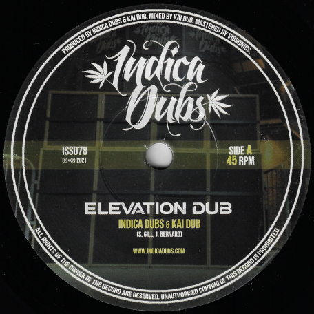 Elevation Dub / Higher Dub - Indica Dubs And Kai Dub