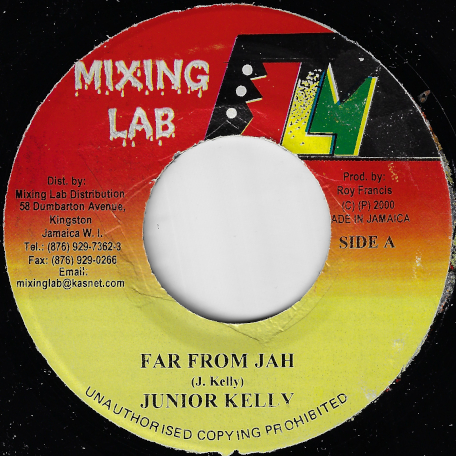 Far From Jah / Black Panther Ver - Junior Kelly