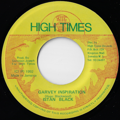 Garvey Inspiration / Ver - Istan Black
