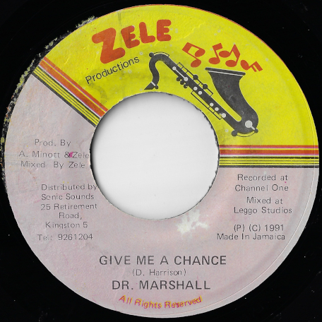 Give Me A Chance / Ver - Dr Marshall