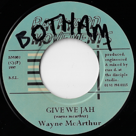 Give We Jah / Ver - Wayne McArthur