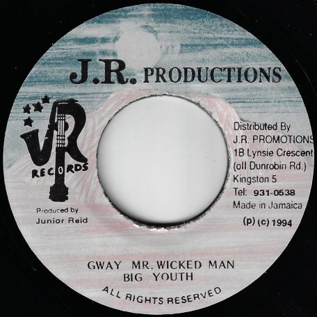 Gway Mr Wicked Man / Unknown Inst - Big Youth