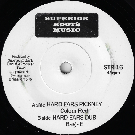 Hard Ears Pickney / Hard Ears Dub - Colour Red / Bag  E