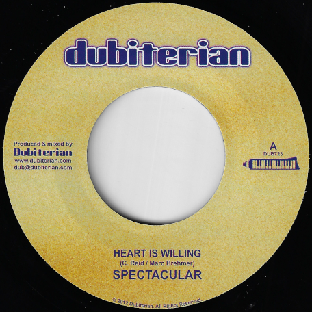 Heart Is Willing / Trodding - Spectacular / Ras McBean