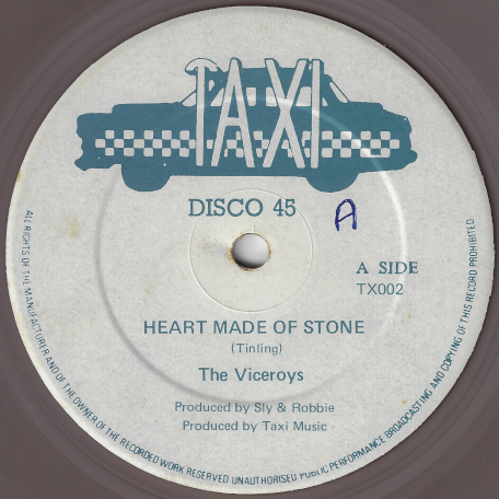 Heart Made Of Stone / Heart Made Of Rock - The Viceroys