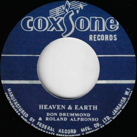 Heaven And Earth / Wonder No More - Don Drummond And Roland Alphonso / Andy And Joey