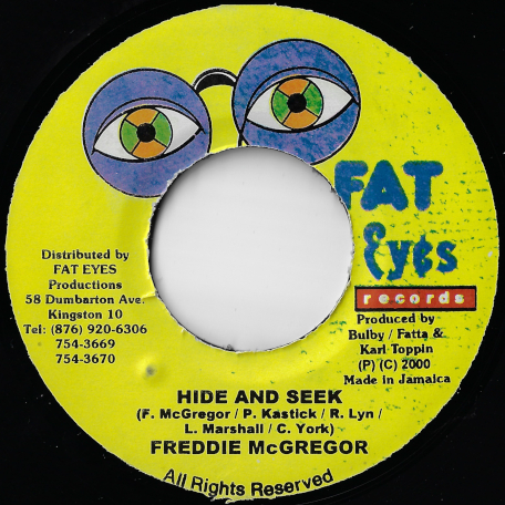 Hide And Seek / Revolution Ver - Freddie McGregor