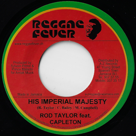 His Imperial Majesty / Him Ver - Rod Taylor Feat Capleton