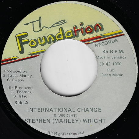 International Change / Dubbing Over The Bridge  - Stephen Wright
