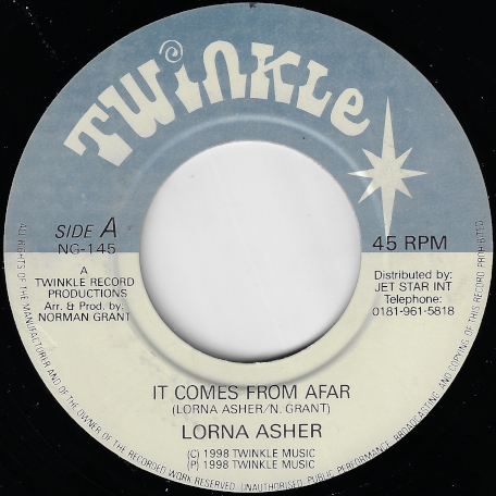 It Comes From Afar / Ver - Lorna Asher / Twinkle Riddim Section