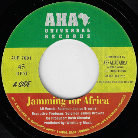 Jamming For Africa / Jamming Dub - Solomon James Browne