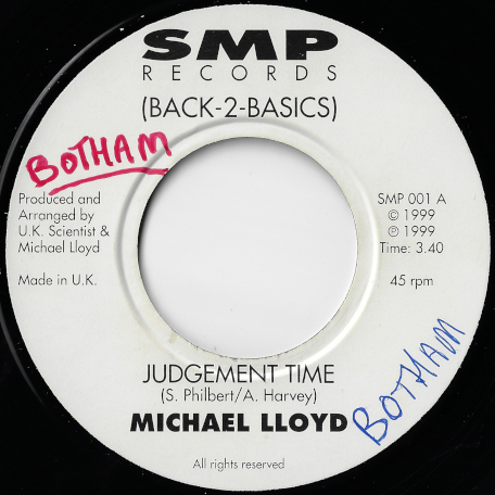 Judgement Time / Judgement Dub - Michael Lloyd / UK Scientist