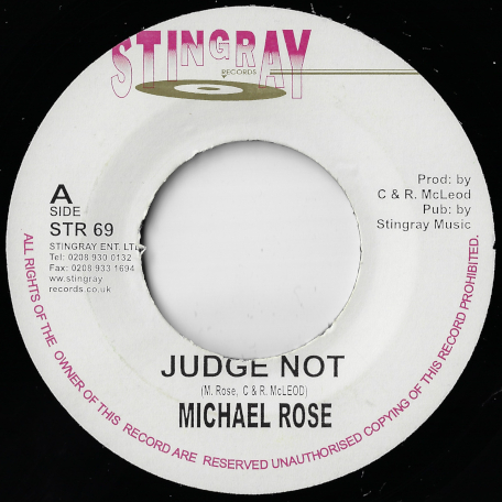 Judge Not / Peoples Choice Dub - Michael Rose