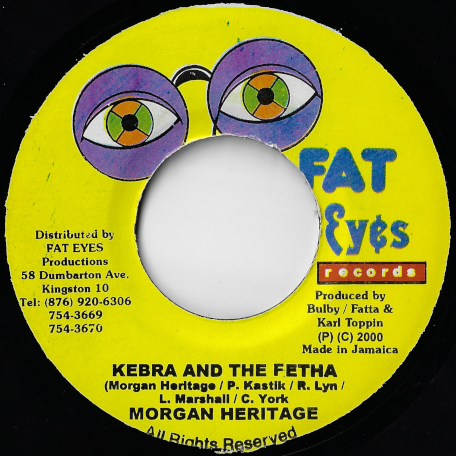 Kebra And The Fetha / Revolution Ver - Morgan Heritage