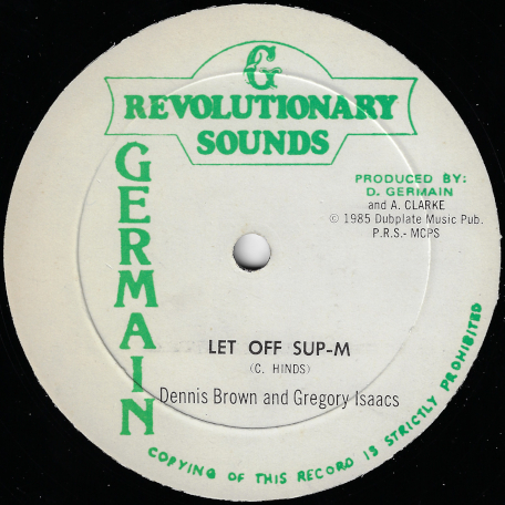 Let Off Sup-M / Ver - Dennis Brown And Gregory Isaacs