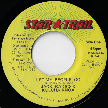 Let My People Go / Ver - Jack Radics And Kulcha Knox