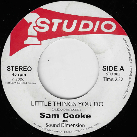 Little Things You Do / Teenage Sonata - Sam Cooke And The Sound Dimension