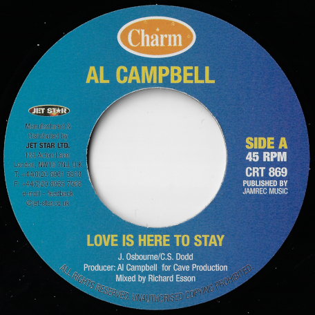 Love Is Here To Stay / Ver - Al Campbell