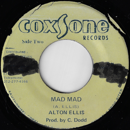 Mad Mad / Mad Ver - Alton Ellis / Sound Dimension