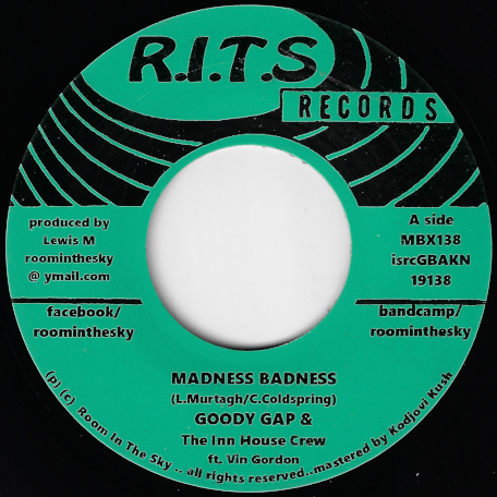 Madness Badness / Ver - Goody Gap And The Inn House Crew