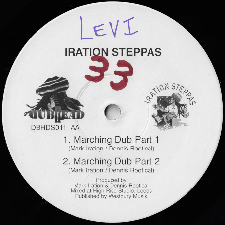 Locks / Locks Dub / Marching Dub Part 1 / Part 2 - Iration Steppas Feat Tenastelin