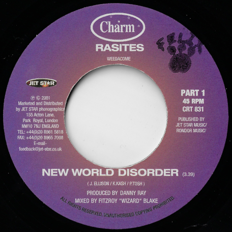 New World Disorder / Inst - Rasites