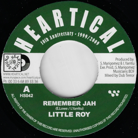 Remember Jah / Virtual Dubbing  - Little Roy / Basque Dub Foundation And Terror