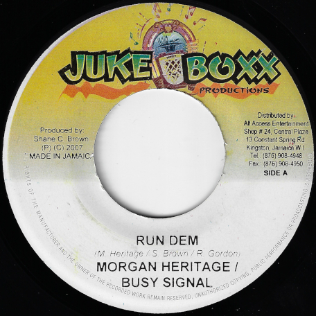 Run Dem / Mix 2 - Morgan Heritage And Busy Signal
