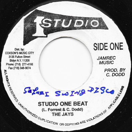 Studio One Beat / Ver - The Jays / Sound Dimension