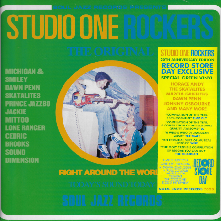 *RSD EXCLUSIVE* STUDIO ONE ROCKERS 20th Anniversary Edition - Various..Sound Dimension..Marcia Griffiths..Freddie McGregor..Horace Andy..Lennie Hibbert..Dawn Penn..Jackie Mittoo