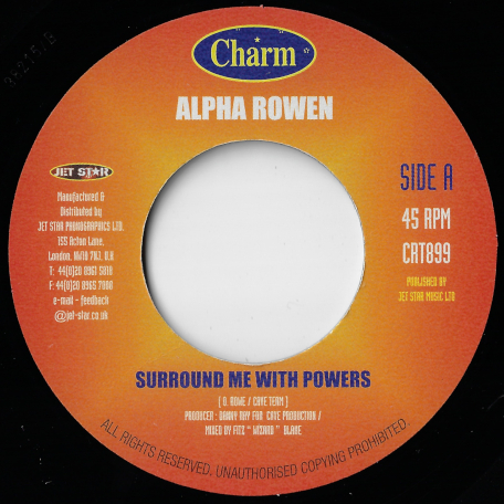 Surround Me With Powers / Sleep Last Night - Alpha Rowen