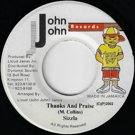 Thanks And Praise / Lots Of Sign Ver - Sizzla / Teetimus And Asha