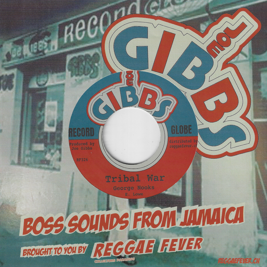 Tribal War / The Sniper Ver - George Nooks / Joe Gibbs And The Professionals