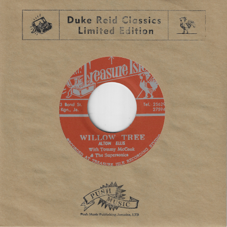 Willow Tree / I Cant Stand It - Alton Ellis With Tommy McCook And The Supersonics