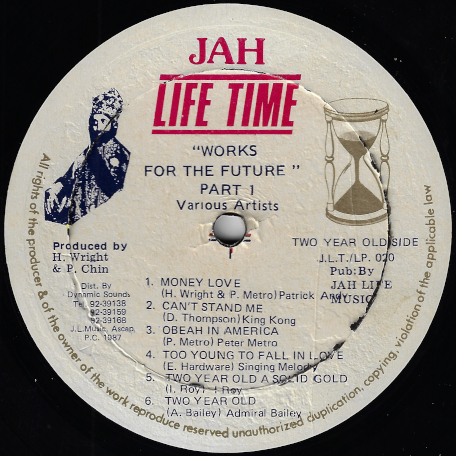 Works For The Future Part 1 - Varoius..Patrick Andy..King Kong..Singing Melody..Sluggy..Jah Thomas