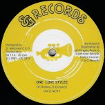 One Love Stylee / One Love Dub - Nya And Natty / Desmond Rhythm Section