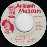 Reservation / Ver - Gregory Isaacs