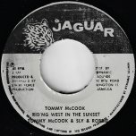Riding West In The Sunset / Tommy McCook's Farewell - Tommy McCook And Sly And Robbie